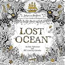 Lost Ocean 2017 Calendar: An Inky Adventure and 2017 Coloring Calendar