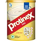 Protinex Lite Health And Nutritional Drink Mix For Adults with High protein & High Fiber, Vanilla, 400g
