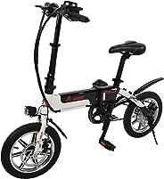 Aster 14 Electrical Bike 1 Speed, Black White (14 Inch)