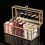 Czemo Rangement Rouge à Lèvres Organisateur de Maquillage en Transparent Support pour Rouges à Lèvres, Rangement Parfum, 24 S