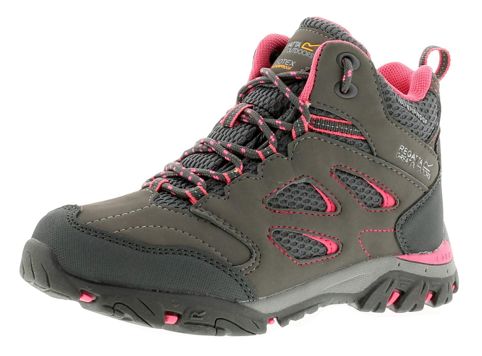 Regatta Girls Holcombe Iep Jnr High Rise Hiking Boots 1