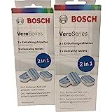 2 x Bosch VeroSeries TCZ8002 ontkalkingstabletten 2-in-1 voor koffieautomaten
