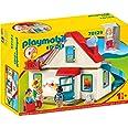 PLAYMOBIL 1.2.3 Casa, con Timbre Real y Efecto de Sonido, A partir de 18 Meses (70129)