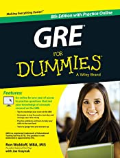 GRE for Dummies, 8ed: With Practice Online: With Online Practice Tests