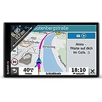 Garmin DriveSmart 65 MT-D EU Navi -  extragroßes Touch-Display, 3D-Navigationskarten und Live-Traffic via DAB+