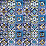 Mexican Tiles - Armando - A Pack of 30 Tiles 10 cm, Mexico Tiles for Kitchen, Bathroom, Shower, Guest Toilet, Kitchen Back Wall