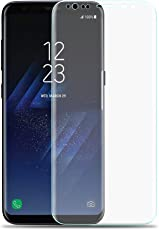 VAPIAO Samsung Galaxy S8 Full Cover [Panzerglasfolie] [Panzerglas] Curved 3D 9h Curved in Transparent