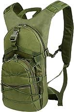 Vbiger 15L Tactical Rucksack Wanderrucksack Große Kapazität Outdoor Schultern Tasche Multifunktions Bergsteigen Tagesrucksack Wandern Rucksäck