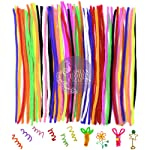 Asian Hobby Crafts Craft Pipe Cleaner for Hobby Crafts, Scrapbooking, DIY Accessory (100 Pieces, 12-inch)