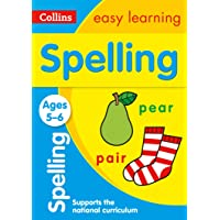 Spelling Ages 5-6: Ideal for home learning…
