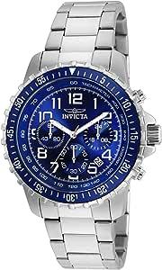 Invicta 6621 Specialty Orologio da Uomo acciaio inossidabile Quarzo quadrante blu