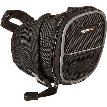 AmazonBasics Cycling Strap-On Wedge Saddle Bag, Small