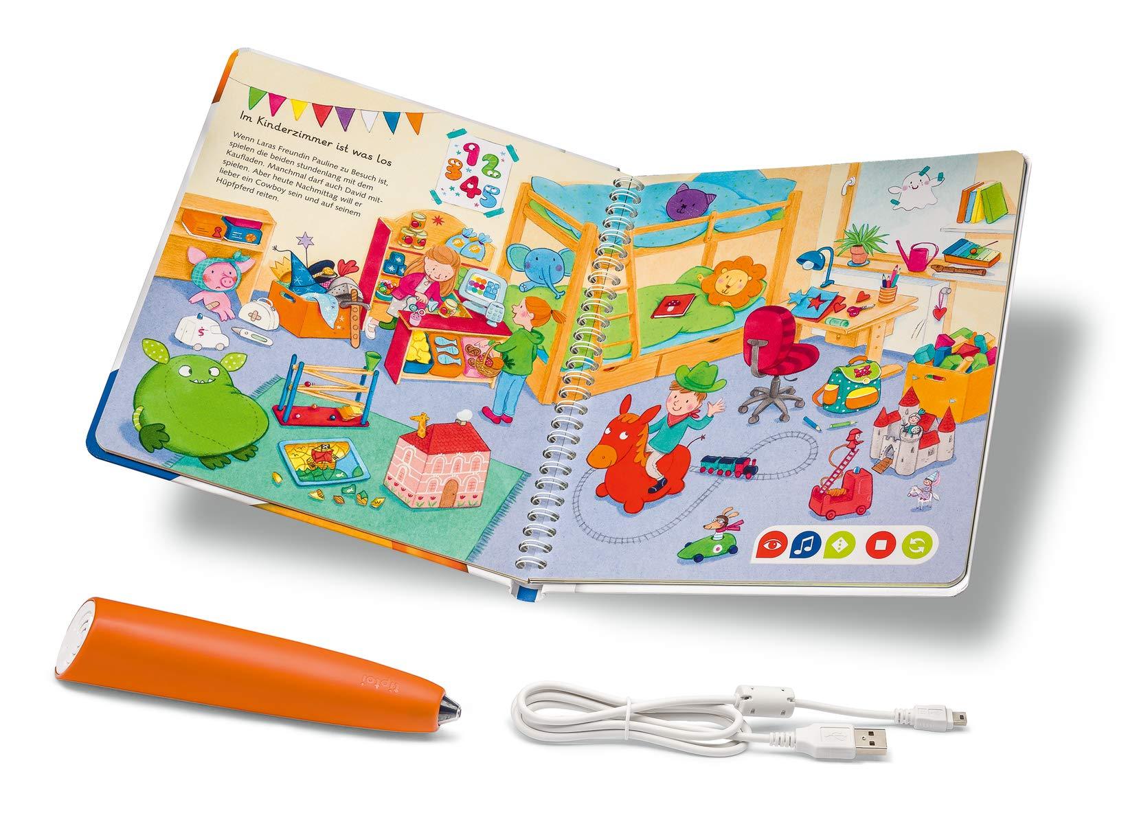 Ravensburger-tiptoi-00806-Starter-Set-Stift-und-Wrter-Bilderbuch