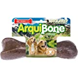ARQUIVET - Arquibone Bacon 20 cm - 265 g- Hueso grande para perros - Snack natural para perros - Hueso para masticar - Alimen