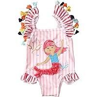 Geagodelia Costume da Bagno Intero Neonata Bambina 0-7 Anni Smanicato Stampati Cartoon Carino Bikini Bimba Multicolori
