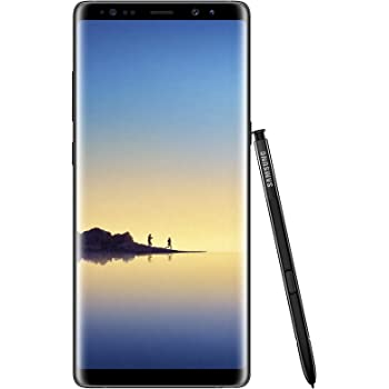 Samsung Galaxy Note 8 Smartphone, Nero [Midnight Black], 64GB espandibili, Dual Sim [Versione Italiana]