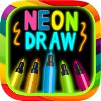Malen und zeichnen mit Neon