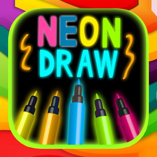 Pintar y dibujar con el neón