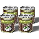 Naturseed - Nata de coco ecológica Original para cocinar, sin lactosa, sin aditivos, ni conservantes, 100% natural. Nata Vege