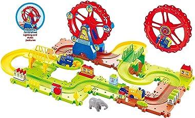 Webby Funny Ferris Wheel 03 Train Set, Multi Color