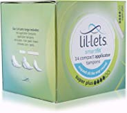 Lil-lets Applicator Super Plus Tampons, 14 Units (Pack of 1)