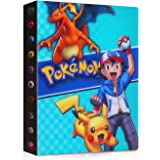 JOYUE Pokemon Kaartenhouder Album, Pokemon Binder voor Kaarten, Kaarten Album Book, Pokemon Card Protector Sleeves, Pokemon K