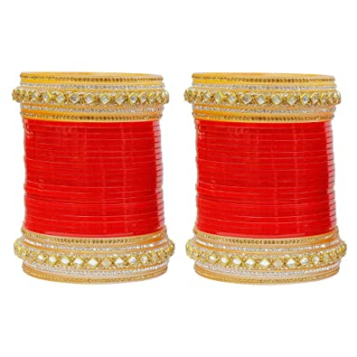 buy much more work added bridal chura women and wedding