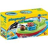 Playmobil 1.2.3 70183 Vissersboot