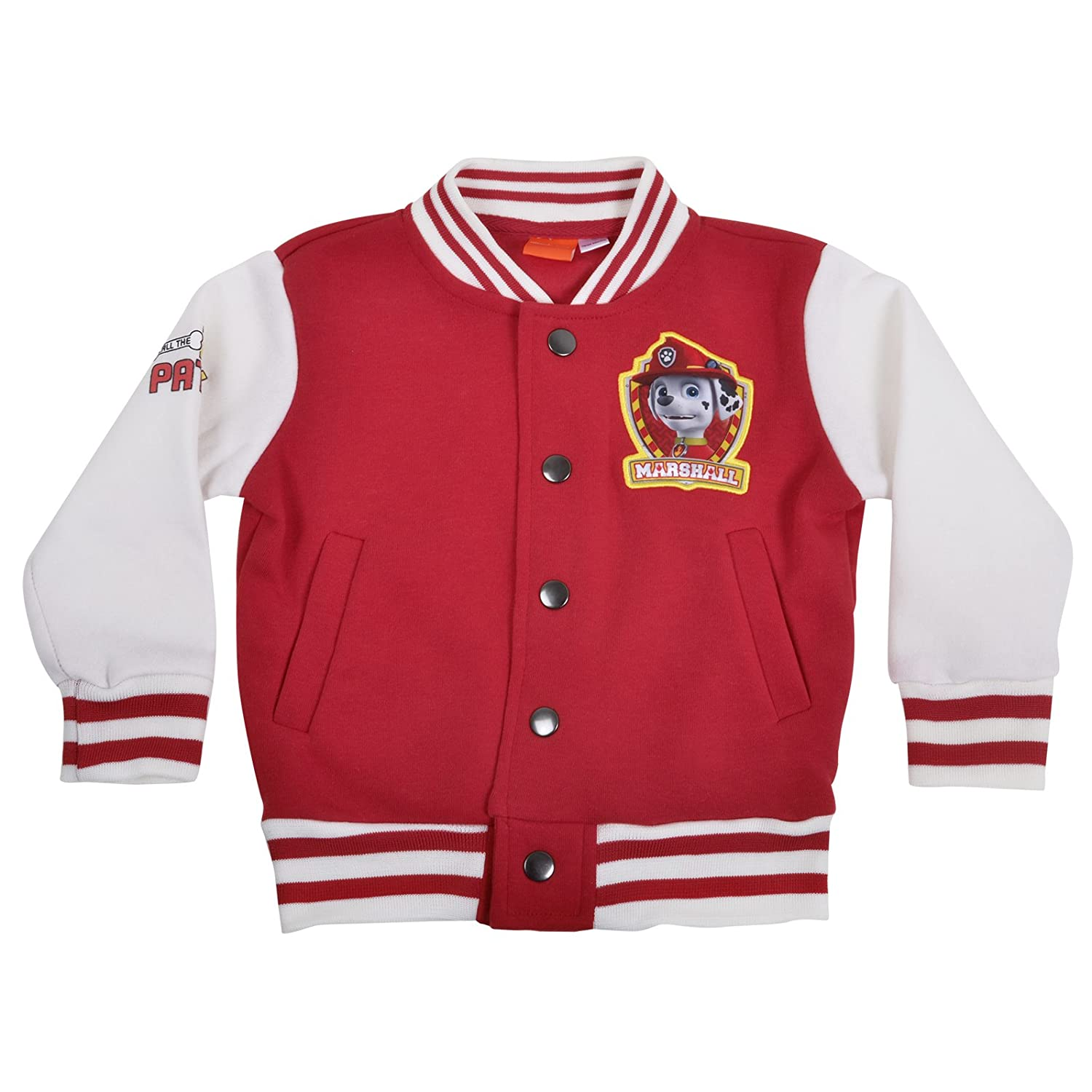 Paw Patrol Baseball Jackets - Marshall 18-24 Months: Amazon.co.uk ...