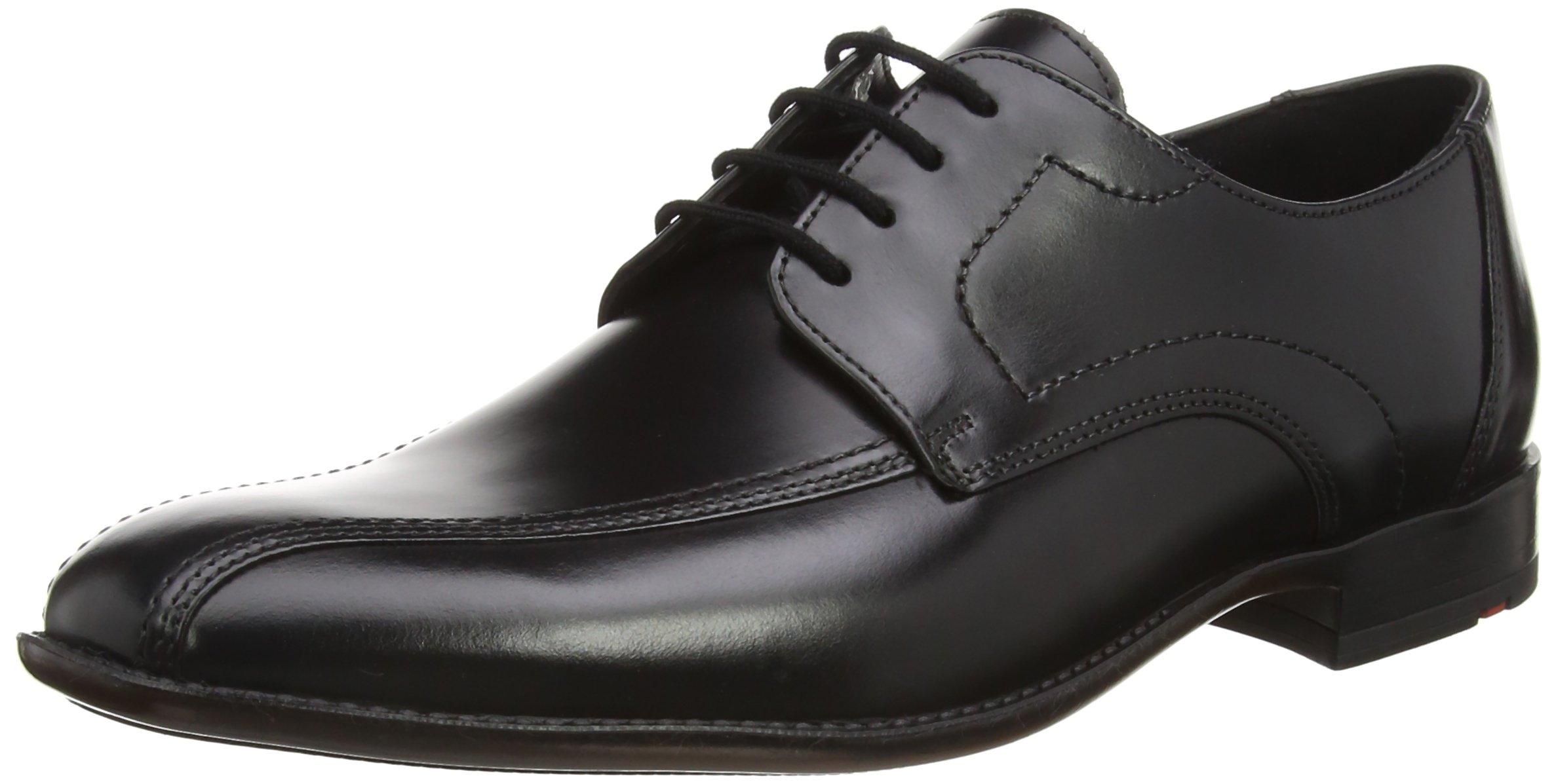 (TG. 43 EU) Lloyd GAMON - Zapatos Derby Hombre, Negro (Negro 0), 43 EU (j8V)