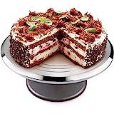 Taartplaat Draaibare caketribune, Uten-caketribune, cakedraaiplateau, cake-decoratiedraaiplateau voor het bakken van gebak, g