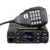Retevis RT95 Doble Banda Mini Mobile Coche Radio Vehículo Transceptor 5W/15W/25W 200 Canales DTMF TFT LCD Display 180°Rotació