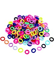 PMW Baby Girl's Mini Elastic Soft Rubber Hair Bands -24 Pieces