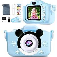 Appareil Photo Enfant-Mini Caméra Numérique Rechargeable Caméscope Photo Vidéo Cadeau pour Filles et Garçons de 3 à 12…