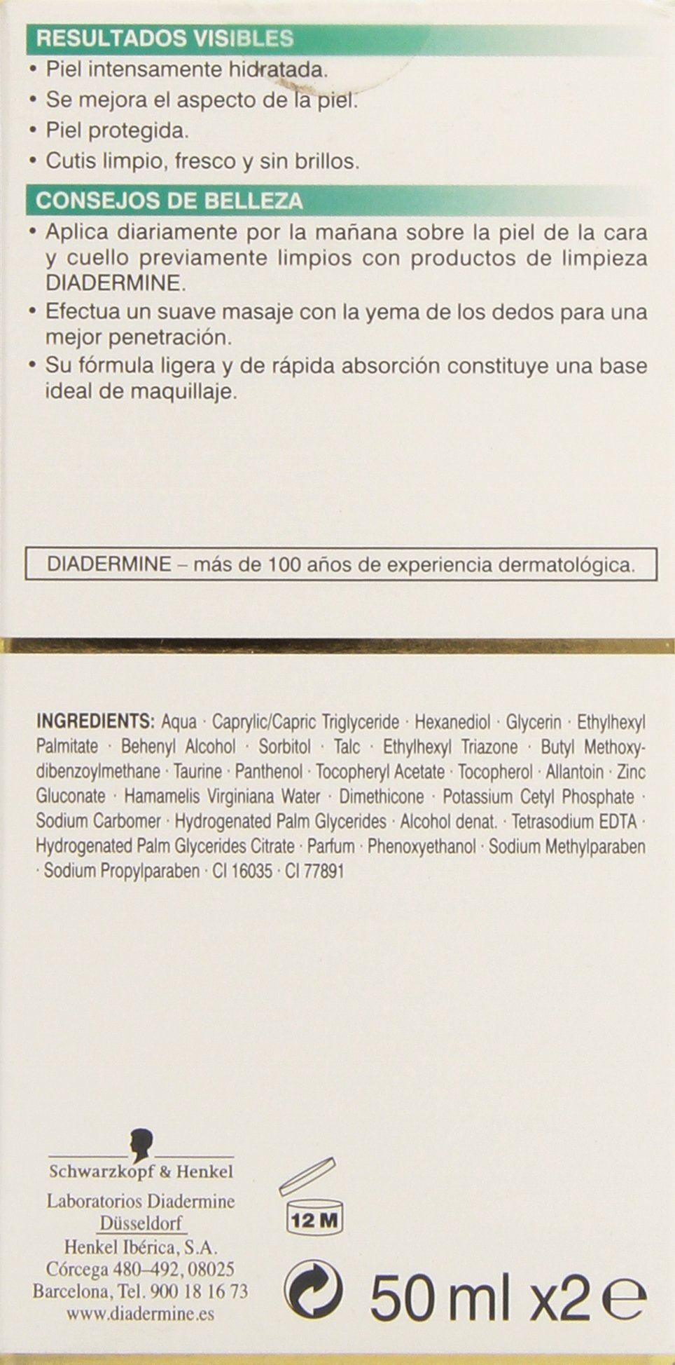 71fTCK6ONqL - Diadermine Hidratante Crema de Dia Normal - Mixta - 50 ml