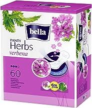 Bella Herbs Panty Liners, 60 Pieces (Verbena)