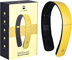 Paww SilkSound Headphones - Stylish Foldable On-Ear Wireless Bluetooth Handsfree calling with 8 Hours Playtime for Work Travel or Outdoor Use (Golden Yellow)