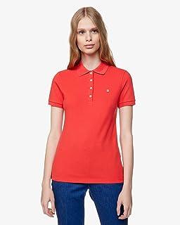 pedir disculpas Lidiar con espejo de puerta  United Colors of Benetton Damen Maglia Polo M/M Poloshirt: Amazon.de:  Bekleidung