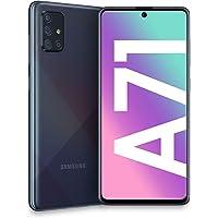 Samsung Galaxy A71 Dual SIM 128GB 6GB RAM SM-A715FN/DS Crush, Schwarz