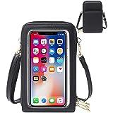 HAIWILL Handy Umhängetasche Leder Handytasche Kleine Crossbody Geldbörse Mini Handytasche zum Umhängen Handy Tasche für iPhon