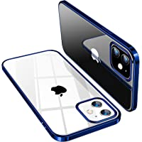 TORRAS Crystal Clear für iPhone 12 Mini Hülle (Vergilbungsfrei, Transparent) Dünn Militärschutz Schutzhülle Flexibles…