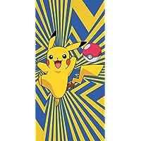 Pokemon Badetuch Go Pikatchu 75 x 150 cm 100% Baumwolle Velours-Qualität Strandlaken Strandtuch Handtuch Badelaken…