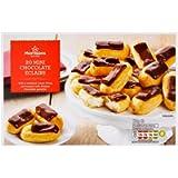 Morrisons 20 Mini Belgian Chocolate Eclairs, 230g (Frozen)