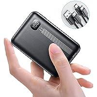 AINOPE [2020 Upgraded Version] 10000mAh Mini PD Power Bank [ Dual QC3.0 Port ] [ USB-C Input & Output ], 3A Quick Charge Externer Akku, kompatibel mit iPhone, Samsung, iPad Pro