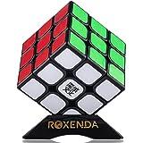 MoYu Aolong V2 Magic Cube Édition améliorée Noir 3 x 3 carrés par Roxenda (Black)