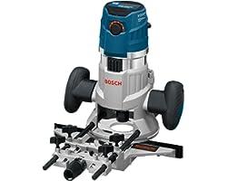 Bosch Professional multifräs GMF 1600 CE (med många slags tillbehör, t.ex. spånskydd, centrerstift, styrskena, i L-BOXX)