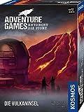 KOSMOS 693169 - Adventure Games - Die Vulkaninsel, Entdeckt die Story, Kooperatives Gesellschaftsspiel für 1 bis 4…