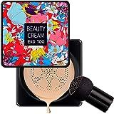 Mushroom Head Air Cushion CC Cream Hydraterende BB Cream Makeup Primer Foundation Concealer voor Gezicht, Lichtgewicht en Gla