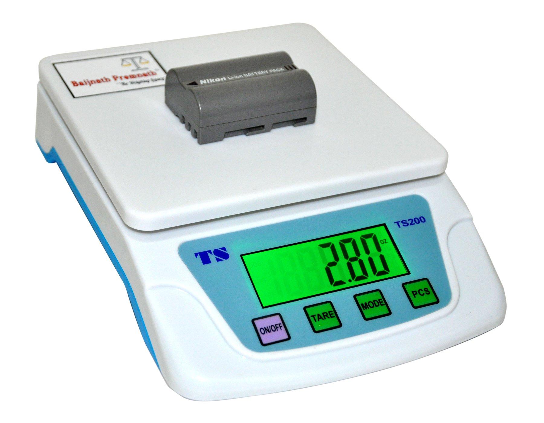 Baijnath Premnath Premium 5Kg x 100mg Digital Multi-Purpose Weighing ...