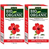 INDUS VALLEY Organic Hibiscus Powder - (200g)